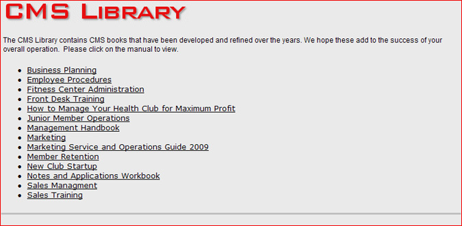 cms library rh wehelphealthclubs com Retail Sales Training Manual Retail Sales Training Manual